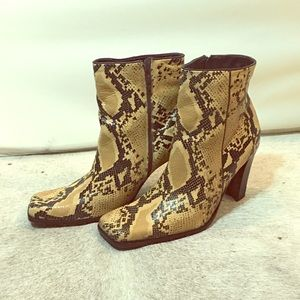 Pazzo python boots